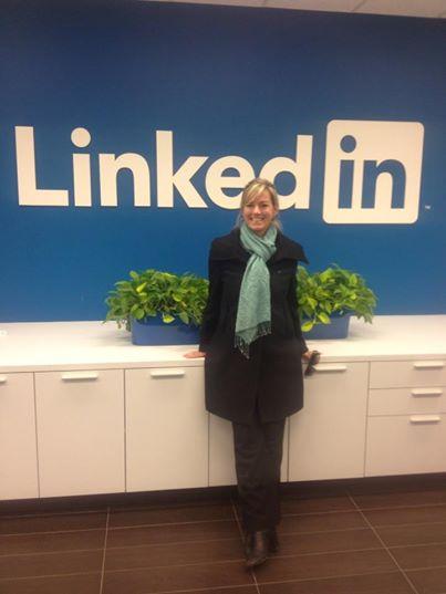 Visiting LinkedIn Office
