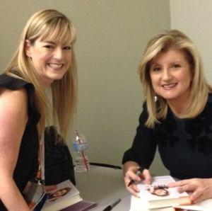 Leslie Hughes & Arianna Huffington